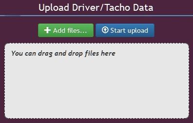 Съхранение на данни от тахограф